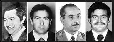 cele patru victime din vina lui Battisti