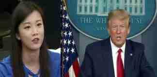 Trump cu reporter chinez