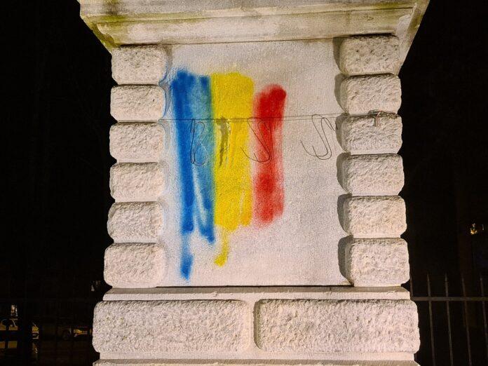 vandalizare monument